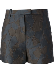 3.1 Phillip Lim Fitted Shorts Blue