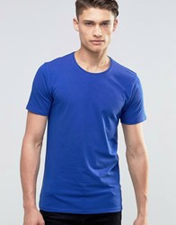 Selected Homme Crew Neck T Shirt Blue
