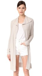 James Perse Silk Cardigan Linen