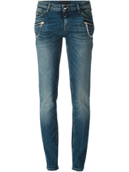 Diesel Black Gold Faded Slim Jeans Blue