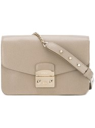 Furla Classic Shoulder Bag Nude Neutrals