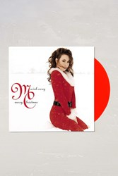 Urban Outfitters Mariah Carey Merry Christmas Lp Red