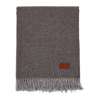 Gant Cashmere Blend Throw 130X180cm Grey