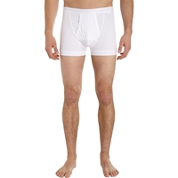 Zimmerli Sea Island Long Boxer Shorts White