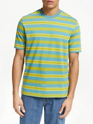 John Lewis And Co. Clearlake Stripe T Shirt Blue Multi