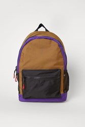 Handm Backpack With Laptop Sleeve Yellow