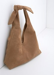 Mint Velvet Tess Tan Slouchy Shopper Brown