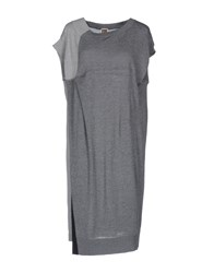 I'm Isola Marras Short Dresses Grey