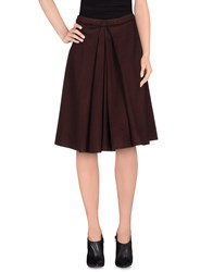 Ermanno Scervino Skirts Knee Length Skirts Women Deep Purple