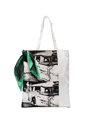 Calvin Klein 205W39nyc Ambulance Disaster Shopper Bag White