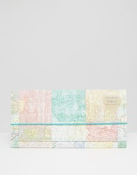 Paperchase Maps Ticket Wallet Multi