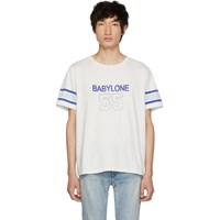 Saint Laurent Off White 'Babylone' T Shirt