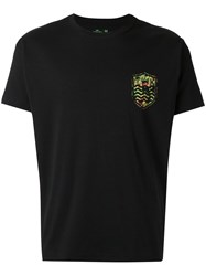 Osklen Printed T Shirt Black
