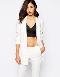 Warehouse White Tailored Blazer