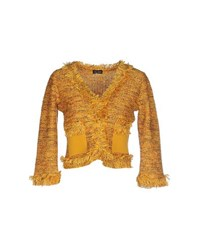 Charlott Knitwear Cardigans Women Yellow