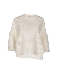 Giambattista Valli Topwear Sweatshirts Women White