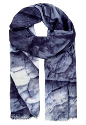 Ichi Selma Scarf Total Eclipse Blue