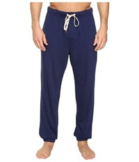 Original Penguin Lounge Jogger Pants Medieval Blue Men's Pajama Navy