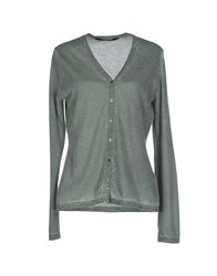Private Lives Cardigans Military Green