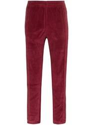 Champion Reverse Weave Track Pants Red