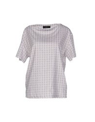 Mauro Grifoni Blouses Light Grey