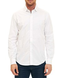 Robert Graham Weylin Long Sleeve Woven Shirt White