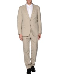 Tombolini Suits And Jackets Suits Men Beige