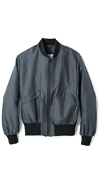 Patrik Ervell Flight Nylon Bomber Lagoon Grey