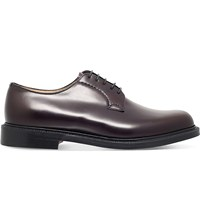 Church's Shannon Leather Derby Shoes Wine