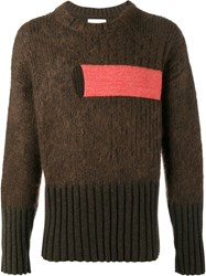 Helen Lawrence Chunky Ribbed Jumper Brown