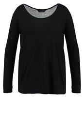 Dorothy Perkins Curve Long Sleeved Top Black