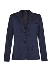 French Connection Avenue Suiting Blazer Blue
