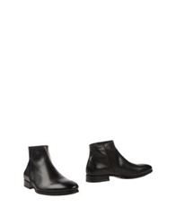 N.D.C. Made By Hand Ankle Boots Black