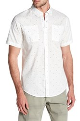 Burnside Bird Contemporary Fit Shirt White