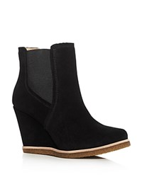 Splendid Tara Wedge Booties Black