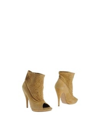 Met Ankle Boots Sand