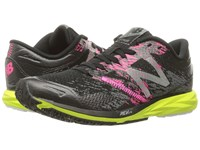 New Balance Strobe Black Grey Lime Glo Women's Running Shoes