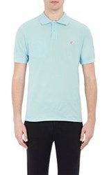 Band Of Outsiders Mushroom Embroidered Polo Shirt Multi Size 0 Xs