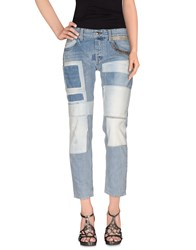 We Are Replay Denim Denim Trousers Women Blue