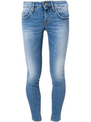 People People Skinny Fit Jeans Blue