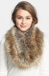 Junior Women's Bp. Faux Fur Infinity Scarf