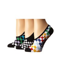Vans Checkin' In Canoodles White Women's No Show Socks Shoes