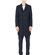 Acne Studios Garret Wool Coat Black