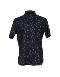 Element Shirts Dark Blue