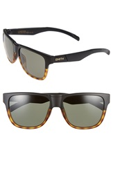 Smith Optics 'Lowdown' 56Mm Sunglasses Black Tortoise Gray Green