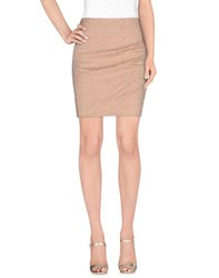 Attic And Barn Attic And Barn Skirts Knee Length Skirts Women Skin Colour