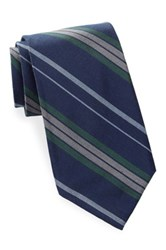 Ben Sherman Stripe Tie Green