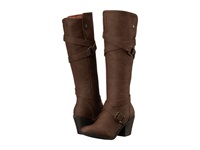 Blowfish Snaps Coffee Texas Pu Women's Pull On Boots Brown