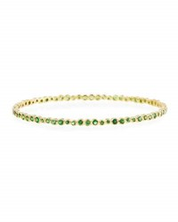 Ippolita 18K Glamazon Stardust Tsavorite Bangle Green
