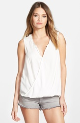 Ella Moss 'Noa' Sleeveless Blouse Natural